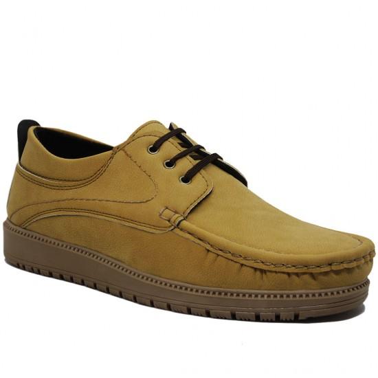 Modamela E316 Hardal Nubuk Bağcıklı Erkek Ayakkabı