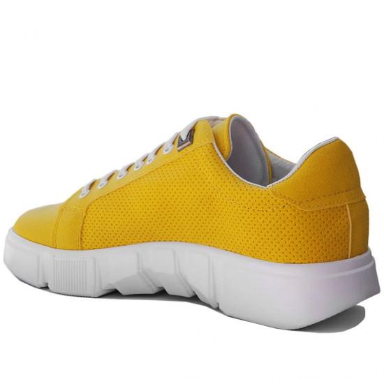 Modamela E196 Sarı Deri Erkek Spor Ayakkabı