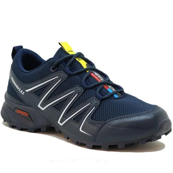 Modamela E197 Lacivert Anorak Bağcıklı Erkek Spor Ayakkabı