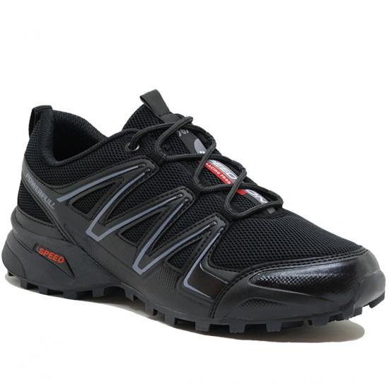 Modamela E201 Siyah Anorak Bağcıklı Erkek Spor Ayakkabı