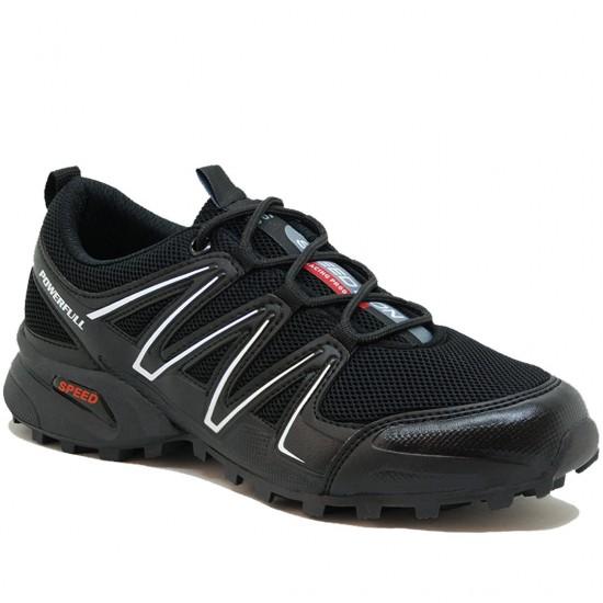 Modamela E213 Siyah Anorak Bağcıklı Erkek Spor Ayakkabı