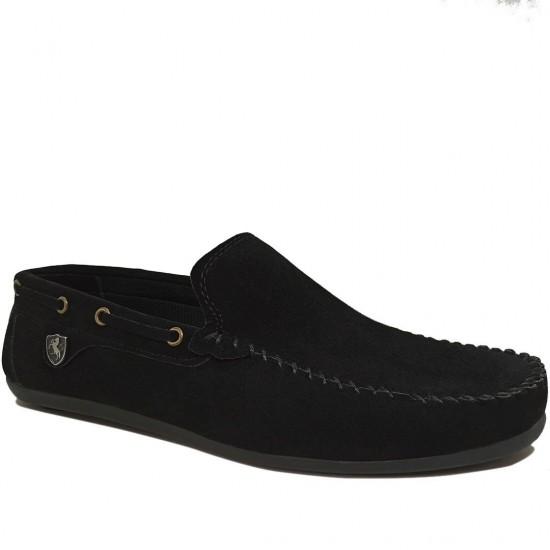 Modamela E051 Siyah Süet Erkek Ayakkabı