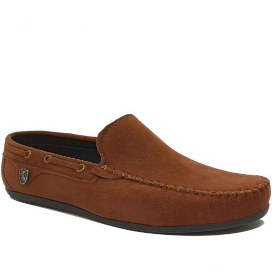 Modamela E052 Taba Rengi Süet Erkek Ayakkabı