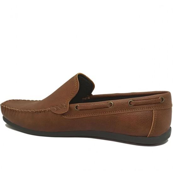 Modamela E057 Kahverengi Deri Erkek Ayakkabı
