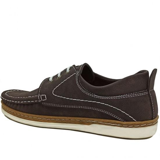Modamela E152 Kahverengi Nubuk Erkek Casual Ayakkabı
