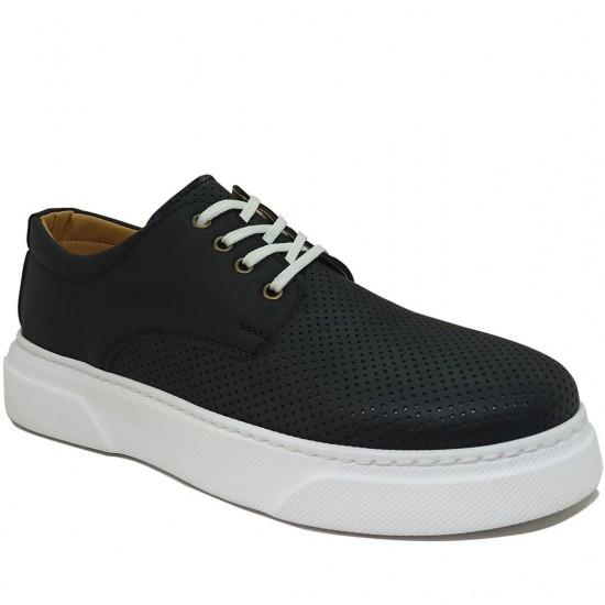 Modamela E342 Siyah Nubuk Erkek Spor Ayakkabı