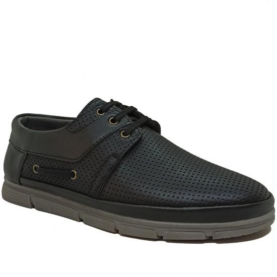 Modamela E347 Siyah Nubuk Erkek Casual Ayakkabı