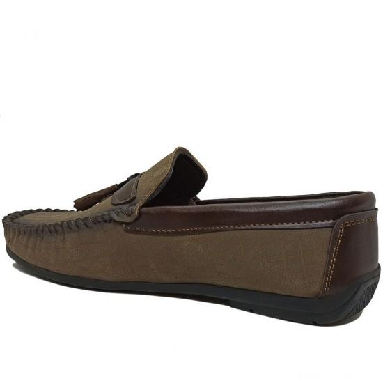 Modamela E371 Vizon Nubuk Erkek Ayakkabı