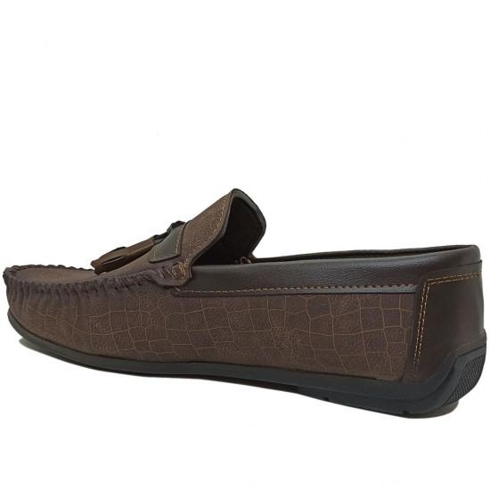 Modamela E372 Kahverengi Nubuk Erkek Ayakkabı