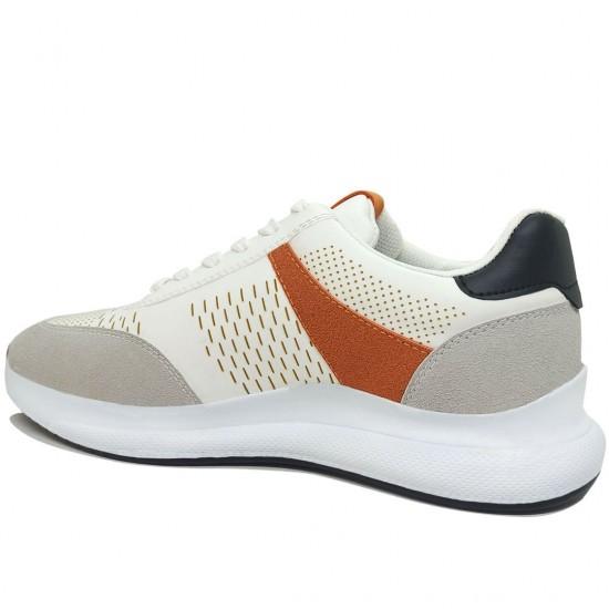 Modamela E409 Beyaz Bağcıklı Erkek Spor Ayakkabı