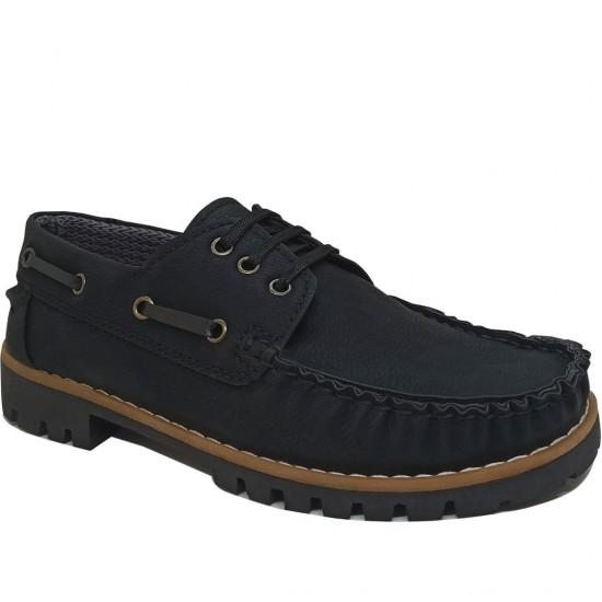 Modamela K109 Siyah Nubuk Kadın Ayakkabı
