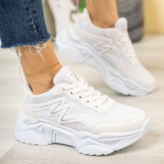 Modamela K136 Beyaz Anorak Kadın Spor Ayakkabı
