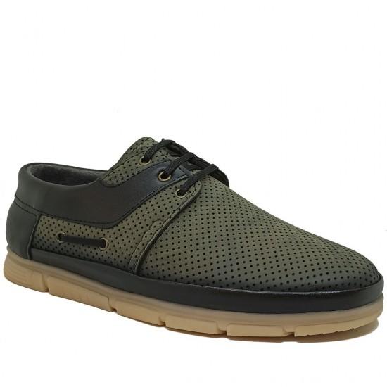 Modamela E346 Yeşil Nubuk Erkek Casual Ayakkabı