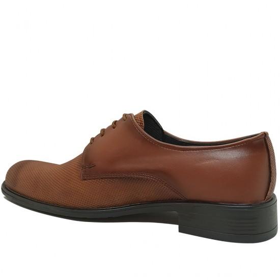 Modamela E373 Taba Rengi Deri Klasik Erkek Ayakkabı
