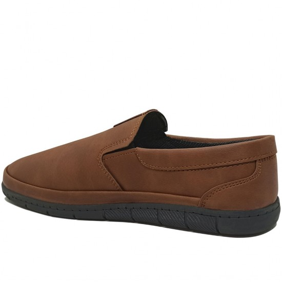 Modamela E375 Taba Rengi Nubuk Günlük Erkek Ayakkabı