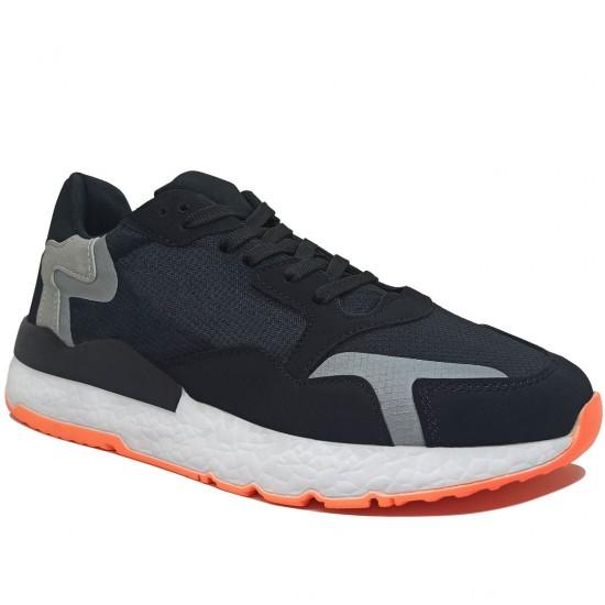 Modamela E395 Siyah Anorak Bağcıklı Erkek Spor Ayakkabı
