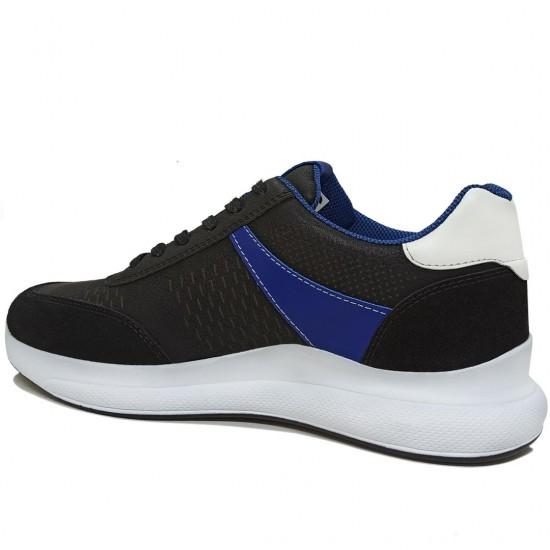 Modamela E396 Siyah Bağcıklı Erkek Spor Ayakkabı