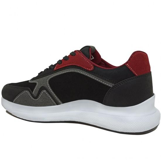 Modamela E398 Siyah Bağcıklı Erkek Spor Ayakkabı