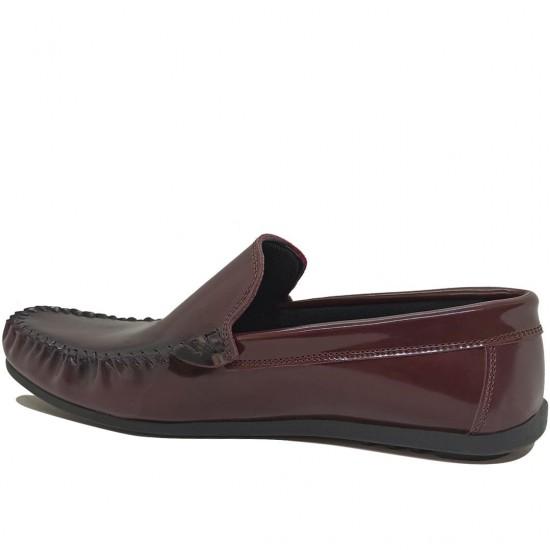 Modamela E418 Bordo Rugan Erkek Ayakkabı