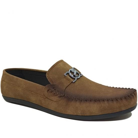 Modamela E425 Açık Kahve Tokalı Erkek Ayakkabı