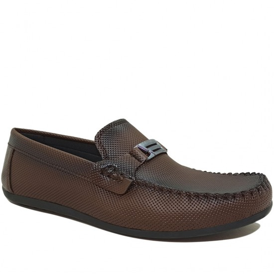 Modamela E426 Kahverengi Tokalı Erkek Ayakkabı