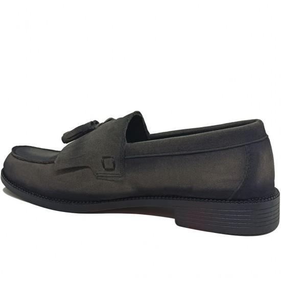 Modamela E428 Füme Süet Corcik Erkek Ayakkabı