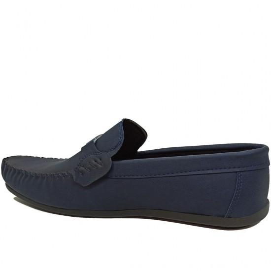 Modamela E453 Lacivert Tokalı Erkek Ayakkabı