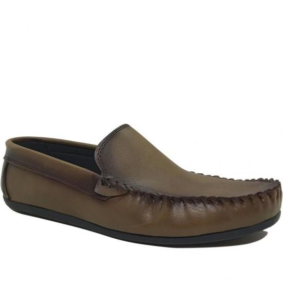 Modamela E462 Vizon Deri Erkek Ayakkabı