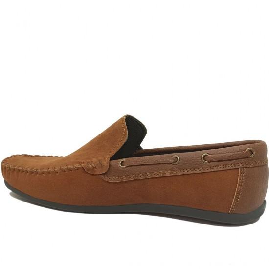 Modamela E476 Taba Rengi Süet Erkek Ayakkabı