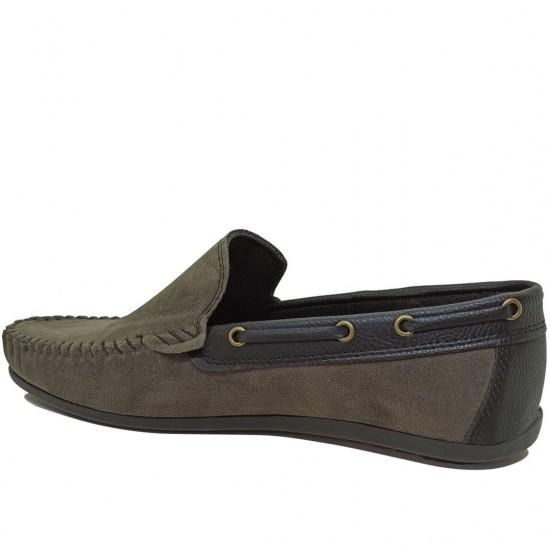 Modamela E479 Gri Süet Erkek Ayakkabı