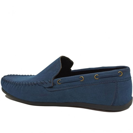 Modamela E481 Koyu Mavi Nubuk Erkek Ayakkabı