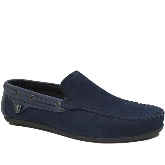 Modamela E482 Lacivert Süet Erkek Ayakkabı