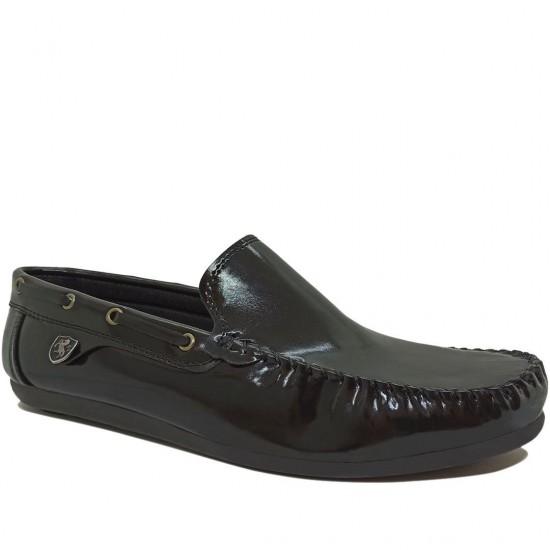 Modamela E483 Siyah Rugan Erkek Ayakkabı
