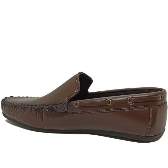 Modamela E484 Kahverengi Rugan Erkek Ayakkabı