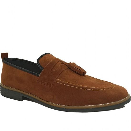 Modamela E507 Taba Rengi Süet Erkek Günlük Ayakkabı
