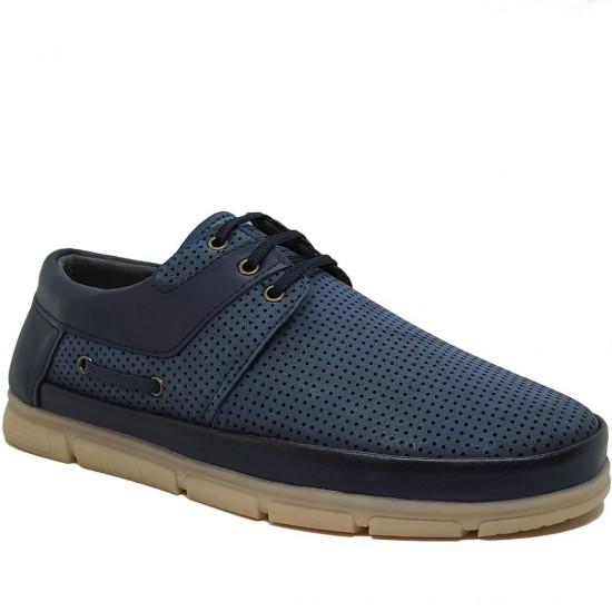 Modamela E344 Mavi Nubuk Erkek Casual Ayakkabı