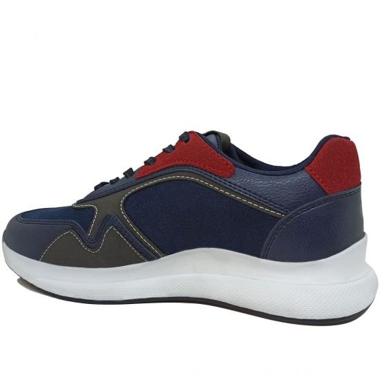 Modamela K117 Lacivert Bağcıklı Kadın Spor Ayakkabı