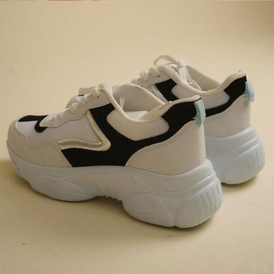 Modamela Fred Beyaz Spor Ayakkabı